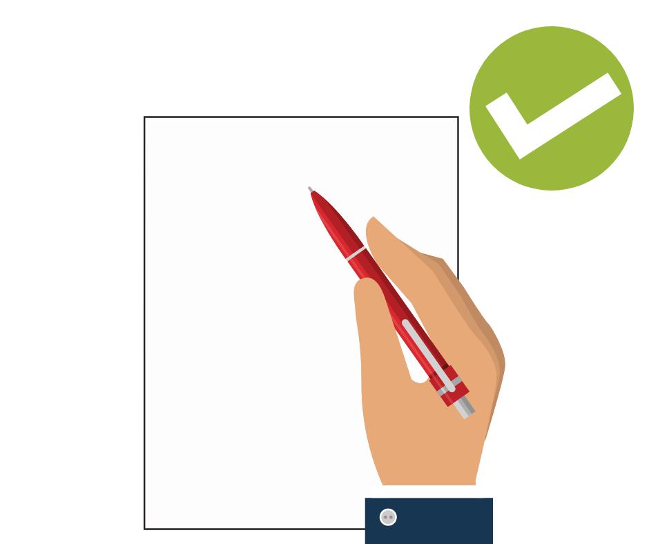 ex zurueck brief - per hand schreiben