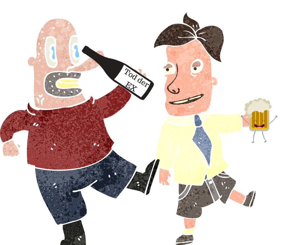 wann vermissen männer - betrunken